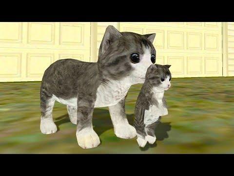СИМУЛЯТОР Маленького КОТЕНКА #12 Сим кошки онлайн с Кидом на #ПУРУМЧАТА