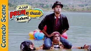 Ranbir Kapoor Comedy  Scene - Ajab Prem Ki Ghazab Kahani - #Indian Comedy
