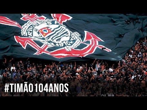 #Timão104 - Jogadores parabenizam Corinthians pelo aniversário