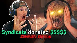 Donating $$$ to Twitch Streamers (ZOMBIES EDITION)
