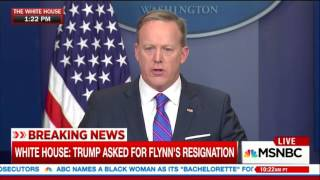 Spicer says Trump has been tough on Russia