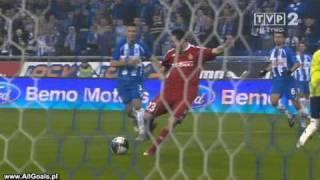 Lech Poznan - Wisła Kraków 4:1 skrót meczu
