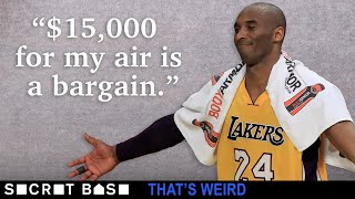 Someone tried to pay $15,000 for a bag of air from Kobe Bryant's final NBA game thumbnail