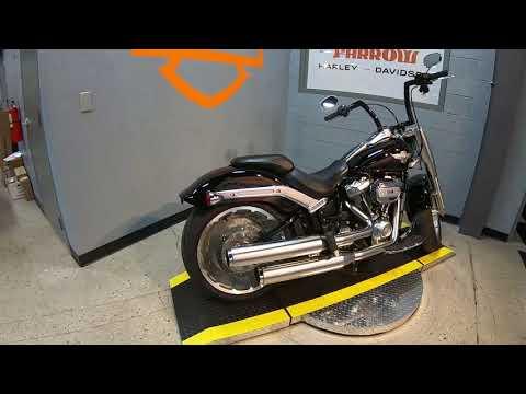 2018 Harley-Davidson Fat Boy 114 FLFBS