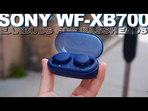 External Review Video H05Yel2mMKA for Sony WF-XB700 Truly Wireless Headphones w/ Extra Bass & Weather Resistance