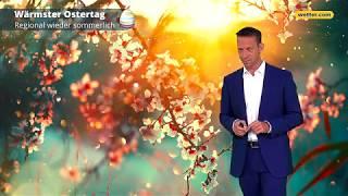 Wetter Heute: Die Aktuelle Vorhersage (20.04.2019 - Karsamstag)
