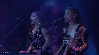 "Chloe x Halle Perform ""The Kids Are Alright"" on JIMMY KIMMEL LIVE!"