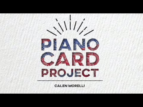 Piano Card Project by Calen Morelli