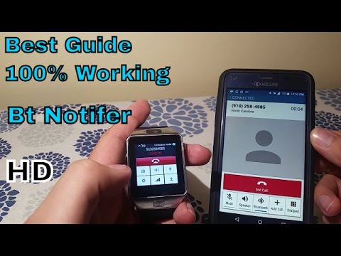 How to set up any android smart watch with your smartphone 100% works