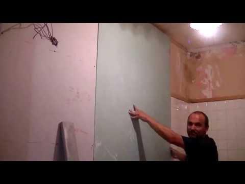 comment poser du placo collé au mur