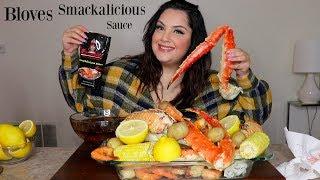 BLOVES Smackalicious Seafood Boil Mukbang   Posi Claudia