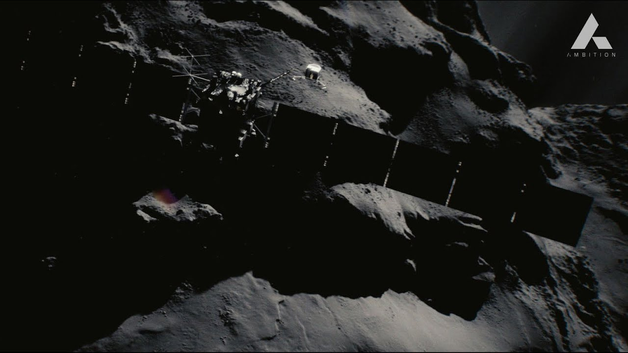 Ambition, the ESA's promotional video for the Rosetta mission