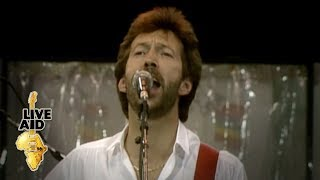 Eric Clapton - White Room  (Live Aid 1985)