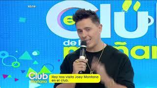 Contamos Con La Grata Visita Del Cantante Joey Montana