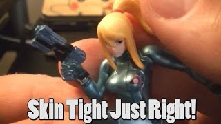 Review of Zero Suit Samus Amiibo - Skin Tight What's Not To Like?