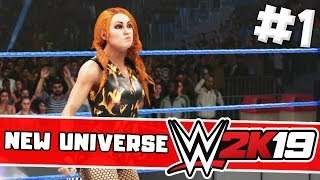 wwe 2k19 universe mode ep 1 - Free video search site