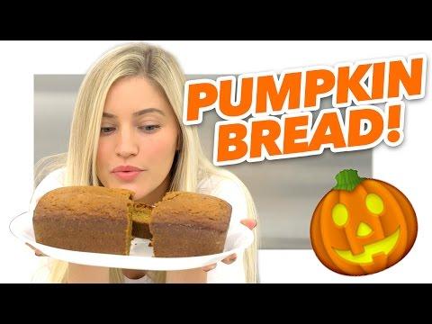 How to make Pumpkin Bread 🎃🍞 | iJustine
