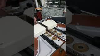 Galli FCE фрезеровально-шлифовальная машина для ремней