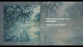 Violin Sonata no. 35 in A major, K. 526