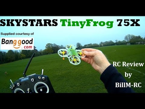 Skystars TinyFrog 75X review with FPV
