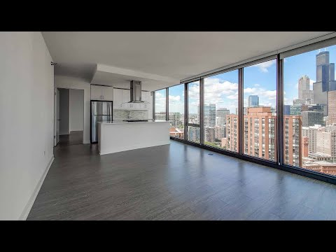 A South Loop 2-bedroom D1 / 02 at the amenity-rich 1001 South State