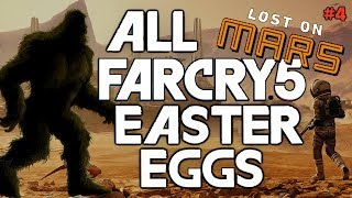 FAR CRY 5 All Easter Eggs & Secrets | + Lost On Mars DLC | Part 4