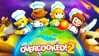 Overcooked 2 - Multiplayer Co-op Chaotic Cooking! - Overcooked 2 Gameplay