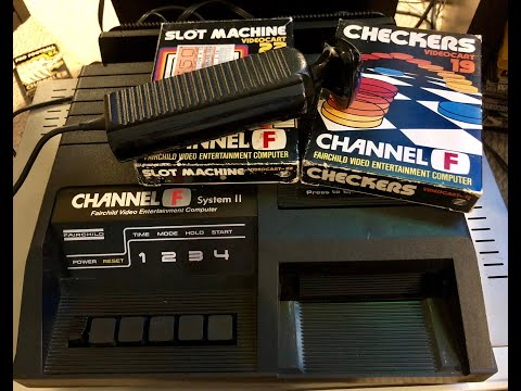 Fairchild Channel F - Mike Matei Live