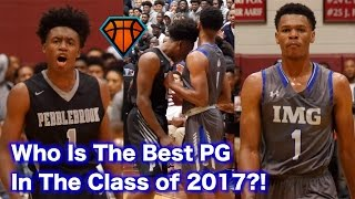 Collin Sexton vs Trevon Duval!! Top Point Guards BATTLE For #1 Spot In The Country!!   IMG vs PBrook