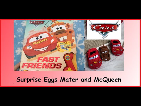 CARS Disney - Lightning McQueen And Mater Cars And Fast Friends Book