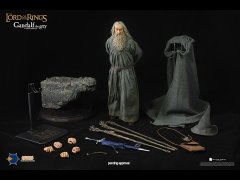 Asmus 阿司馬 part01(外盒與內容) 魔戒三部曲:王者再臨 灰袍巫師 甘道夫 Gandalf the Grey 開箱