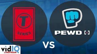 T Series VS Pewdiepie Live Sub Count