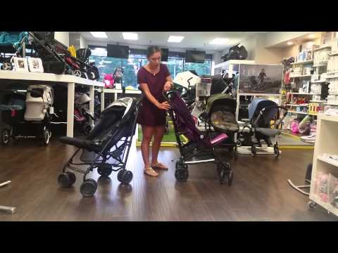 UPPAbaby G-Luxe vs Jane Nanuq Umbrella Stroller Comparison Review