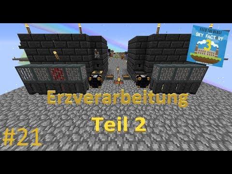 Schmelzen   Minecraft FTB Sky Factory 3 #21