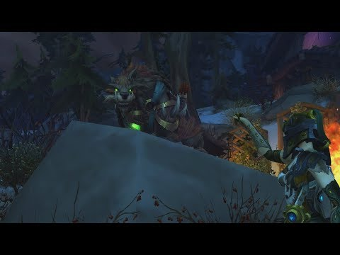 The Story of Huntmaster'S Wolfhawk - Patch 7.2 Hunter Class Mount