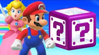 Super Mario 3D World - All Mystery Houses