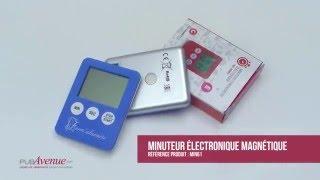 Minuteur électronique magnétique