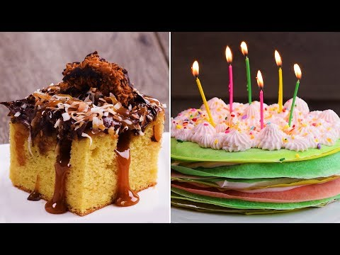 Video Top 8 Cake Recipes | Best Cake Recipe Ideas | Easy DIY Recipes by So Yummy