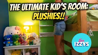 Decorating THE ULTIMATE KID'S BEDROOM! A MILLION PLUSHIES