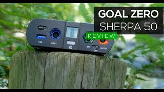 Goal Zero - Sherpa 50 | REVIEW