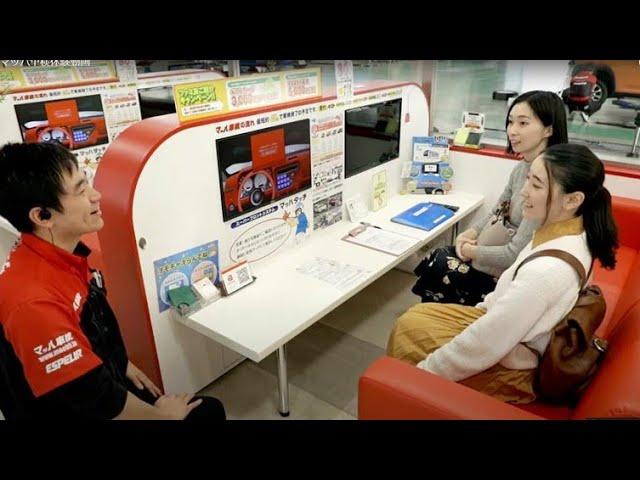 画像:KOWAマッハを女性ユーザーが初体験