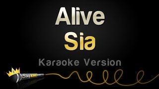 Sia   Alive (Karaoke Version)