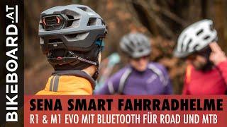 Praxistest: SENA Fahrradhelme mit Bluetooth für Rennrad und MTB – Deutsch