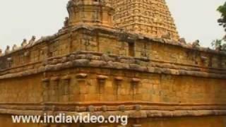 Exterior beauty of Brihadeeswara temple in Tanjore
