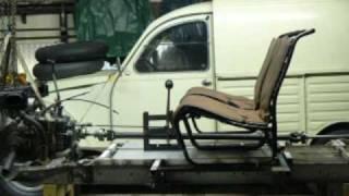 2cv 4x4  Fabrication et 1ers essais