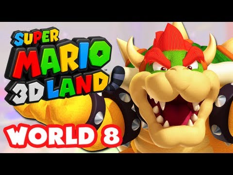 Super Mario Bros 3DS Walkthrough - World 6 (Nintendo 3DS ) by
