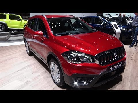2019 Suzuki S-Cross SX4 1.4 Compact+ 4x4 Automatic - Exterior and Interior - Geneva Motor Show 2019