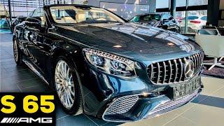 2019 MERCEDES AMG S65 Cabriolet V12 Full Review BRUTAL Sound Exhaust Interior Exterior Infotainment