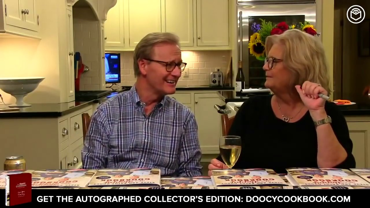 The Happy Cookbook: A Celebration of the Food That Makes America Smile by Steve and Kathy Doocy