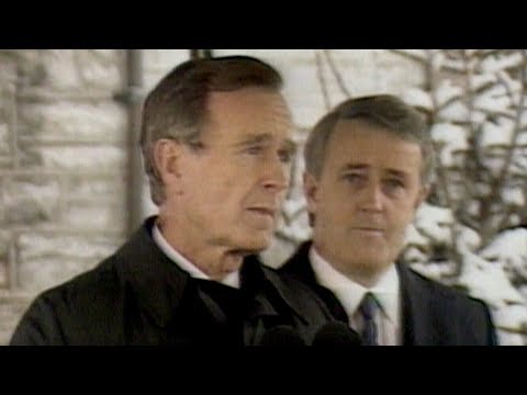 """George H.W. Bush on Canada-U.S. relationship: """"It's fundamental"""""""